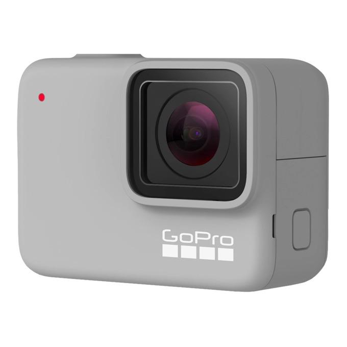 """Екшън камера GoPro HERO7 White, камера за екстремен спорт, FullHD (1080p), 2"""" (5.08 cm) мулти-тъч сензорен дисплей, microSD слот, USB (Type-С), Wi-Fi, Bluetooth image"""