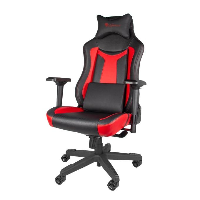 Геймърски стол Genesis Nitro 790, до 150кг, черен/червен image