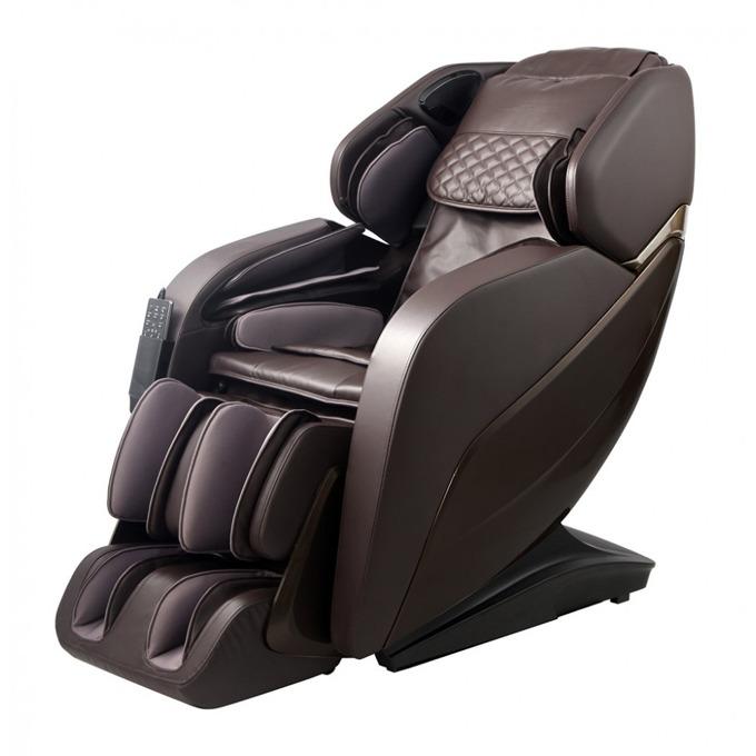 Масажен стол Rexton GJ-6900, кожен, кафяв image