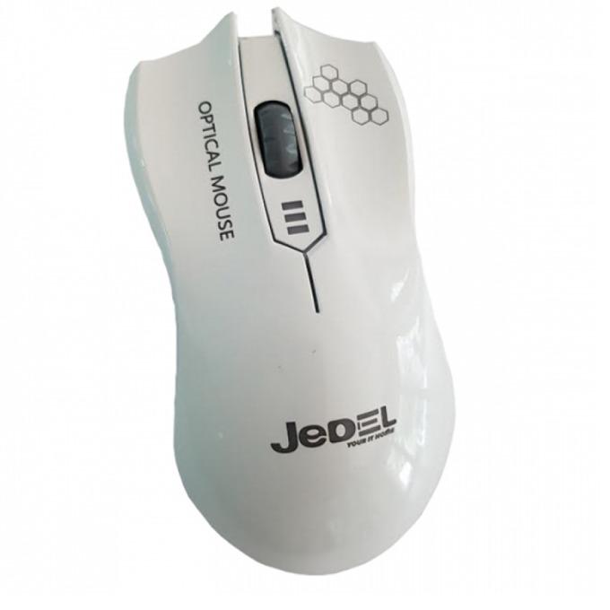 Мишка Jedel M31, оптична(1500 dpi), USB, бяла image
