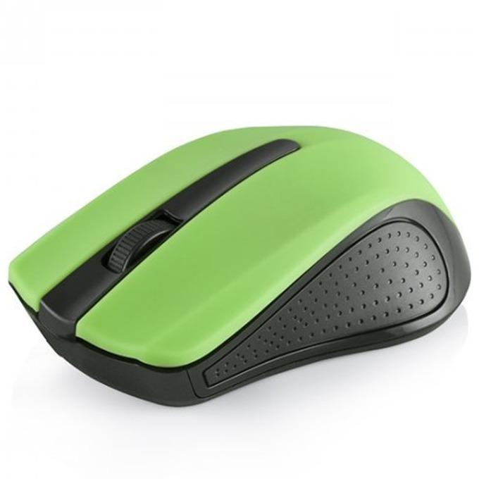 Мишка Modecom MC-WM9, оптична (1200 dpi), безжична, USB, зелена image