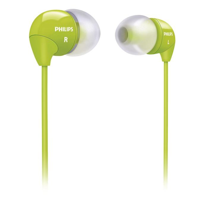 Слушалки Philips SHE3590GN тип тапи, зелен image