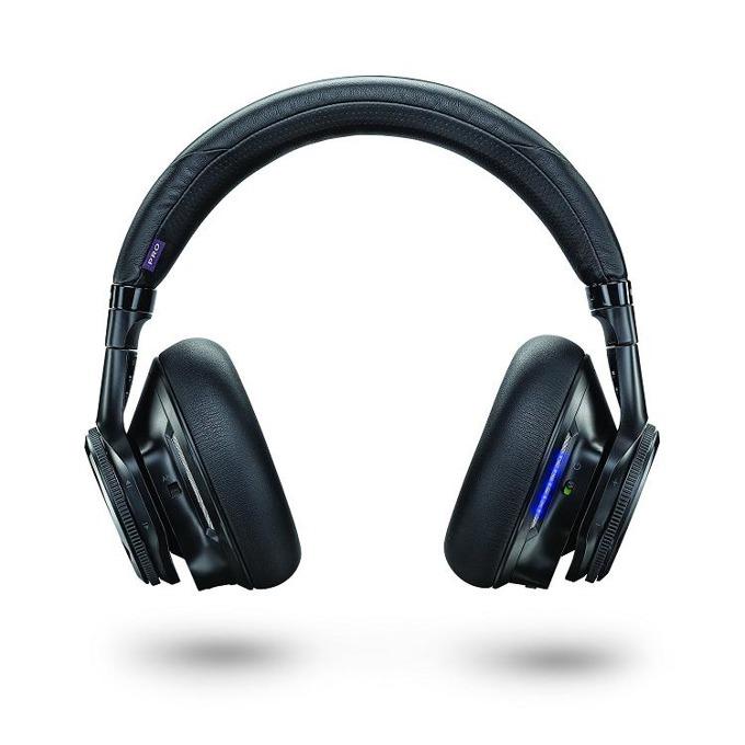 Слушалки Plantronics BackBeat PRO Hi-Fi, черни, Bluetooth, MultiPoint, два микрофона, вградена Li-Ion батерия image
