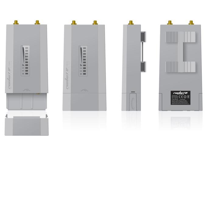 Access point/Аксес пойнт Ubiquiti Rocket RM5-TI, 5GHz(150+ Mbps), 1 x 10/100 Ethernet Port, 1 x 10/100/1000 Ethernet Port image