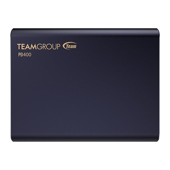 Памет SSD 960GB Team Group Elite PD400, външен, USB 3.1 Type-C, скорост на четене 430MB/s, скорост на запис 420MB/s, синя image