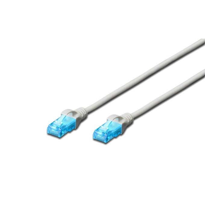Пач кабел Digitus, UTP, Cat.5e, 2m, сив  image
