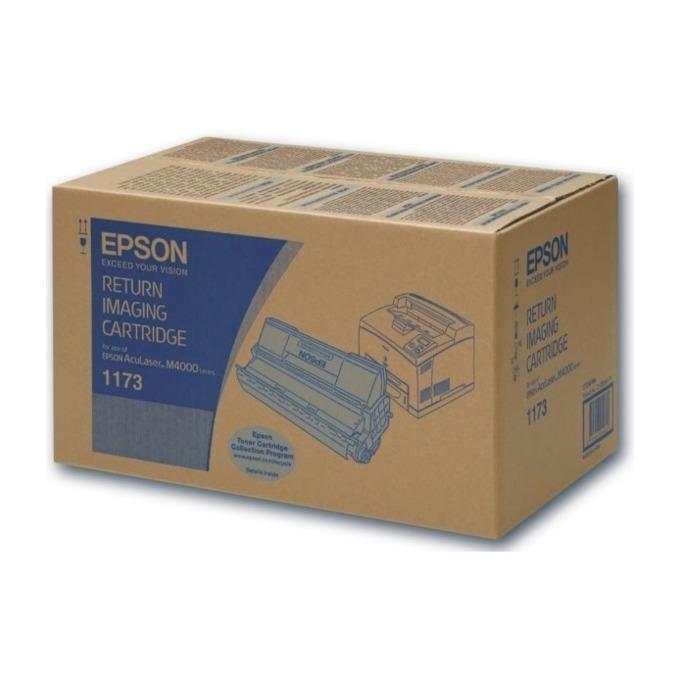 КАСЕТА ЗА EPSON AcuLazer M4000 Series - Black - Return Imaging Cartridge - P№ C13S051173 - заб.: 20000k image