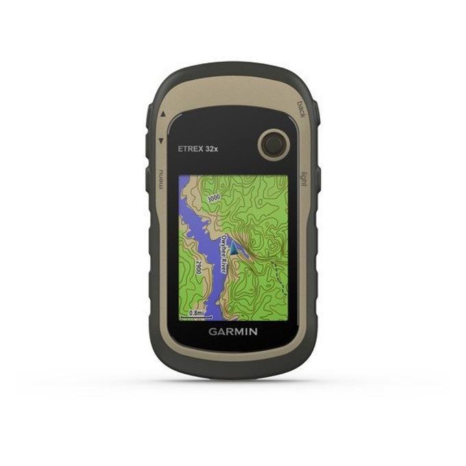 """Ръчна навигация Garmin eTrex 32x, 2.2""""(5.6cm), ANT+, TFT сензорен цветен дисплей, 8GB вградена памет, microSD слот, водоустойчив, до 25 часа време за работа, основна карта image"""