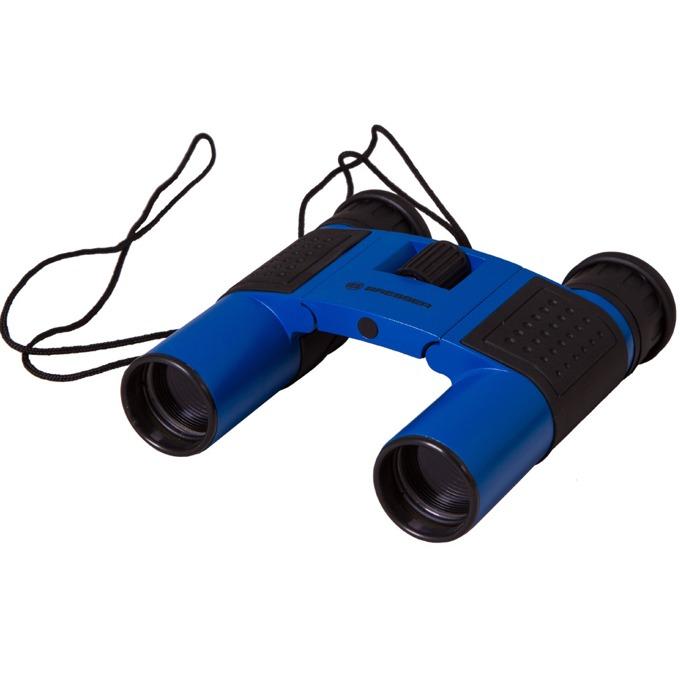 Бинокъл Bresser Topas 10x25, 10x оптично увеличение, диаметър на лещата 25mm, син image