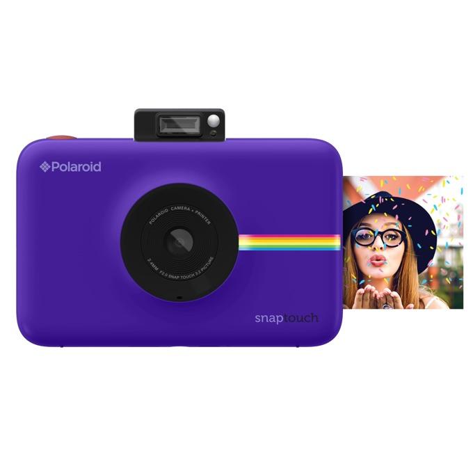 "Фотоапарат Polaroid SNAP TOUCH, 13.0 Mpix, 3.5"" (8.89cm) сензорен мулти-тъч дисплей, MicroSD слот, 1080p видео резолюция, Bluetooth, лилав image"