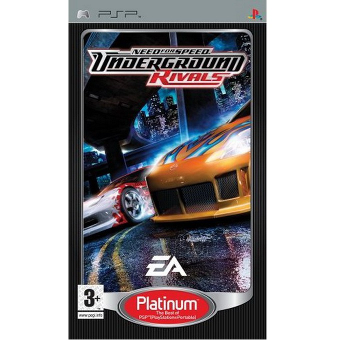 Need for Speed Underground Rivals - Platinum, за PSP image