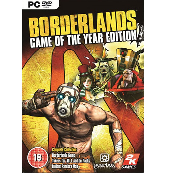 Игра Borderlands Game of the Year Edition, за PC image