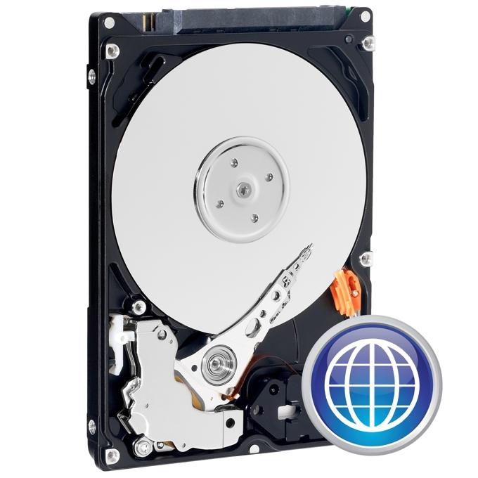 """Твърд диск 500GB, WD Blue™, SATA 6Gb/s, 5400rpm, 8MB, 2.5"""" (6.35 cm) image"""