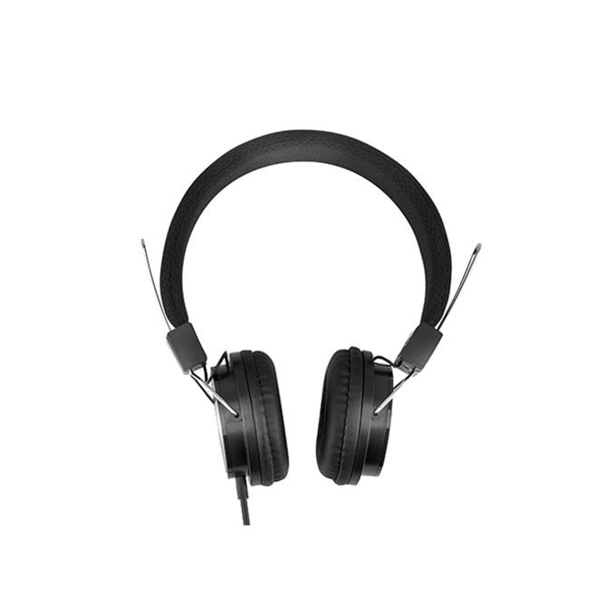Слушалки Acme HA11, микрофон, сгъваеми, 3.5 mm, черни  image