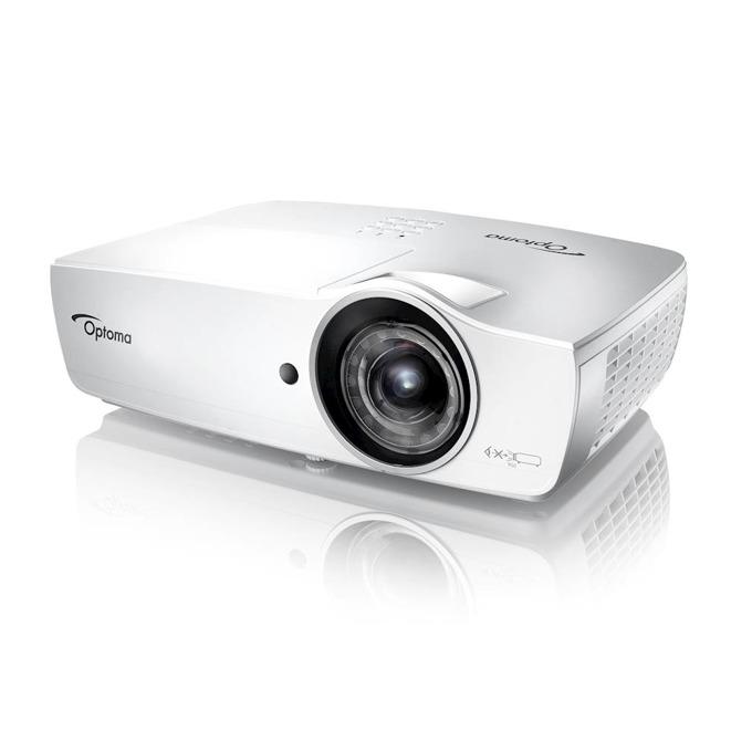 Проектор Optoma EH460ST, 3D, DLP, Full HD(1920x1080), 20,000:1, 4200lm, 2x HDMI, VGA, USB, RJ-45, RS232C image