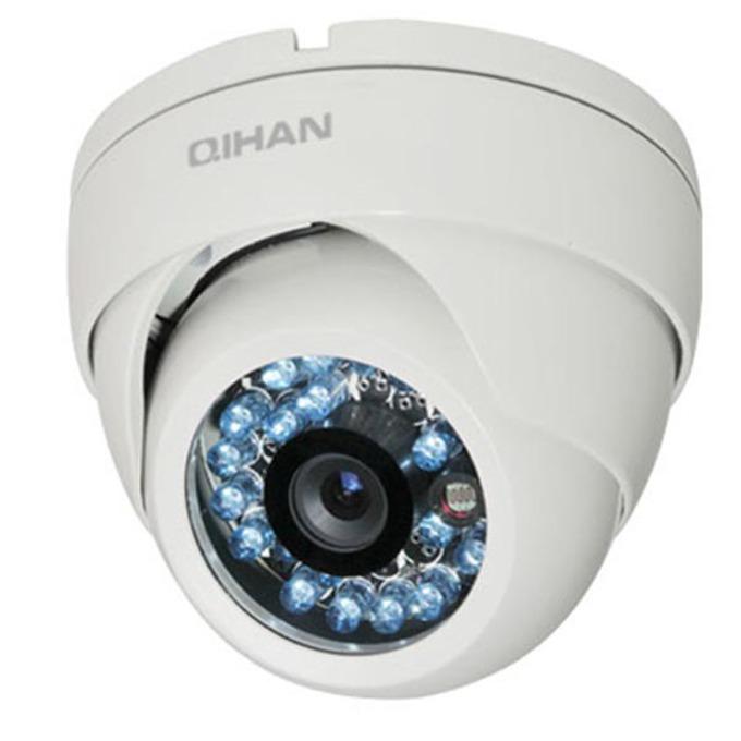 AHD куполна камера Privileg QH-4126OC-N, куполна, 2Mpix (1920x1080), 3.6mm обектив, IR осветителност (до 20 метра), външна, вандалоустойчива image