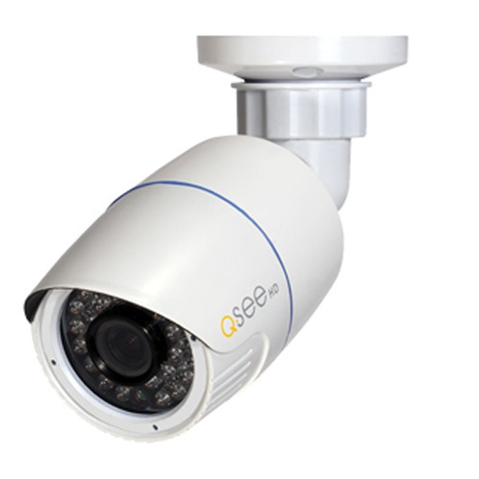 """IP камера Q-See QTN8015B, насочена """"bullet"""", 2 Mpix(1920x1080@30FPS), 3,6mm обектив, H.264/MJPEG, IR осветеност (до 20 метра), 1x RJ45 100mbs image"""