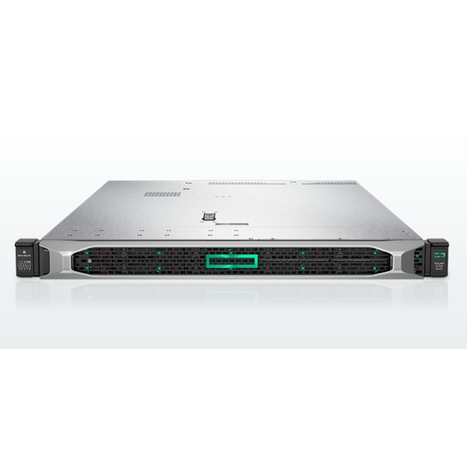 Сървър HPE DL360 G10 (867964-B21), 2x шестнадесетядрени Skylake Intel Xeon Gold 6130 2.1/3.7 GHz, 64GB RDIMM DDR4, No HDD, 4x 1GbE LAN, 5x USB 3.0, без OS, 2x 800W image