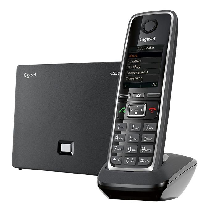 Безжичен VoIP телефон Gigaset C530 IP 1015120