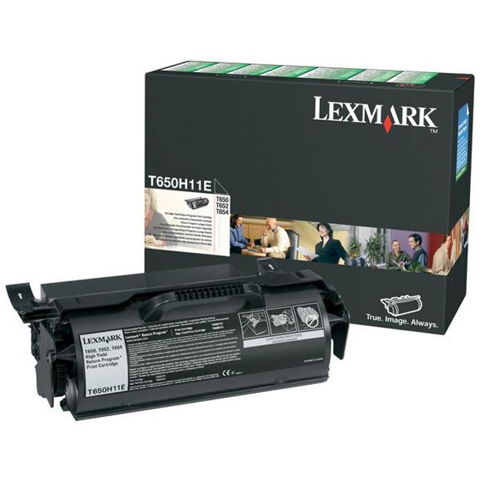 КАСЕТА ЗА LEXMARK OPTRA T 650/652/654 - Return program cartridge - P№ T650H11E - заб.: 25000k image