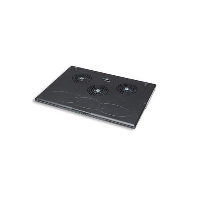Охлаждаща поставка за лаптоп, Manhattan 700467, 3x вентилатора, 2300 rpm, черна image