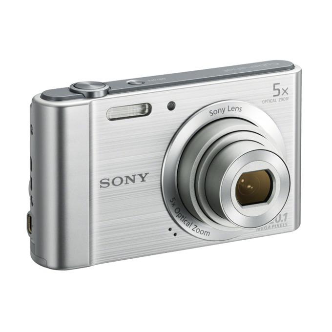 """Sony Cyber Shot DSC-W800, сребрист, 5xOptical zoom, 20.1Mpix, 2.7"""" (6.86cm) екран, SDHC/SDXC, USB image"""