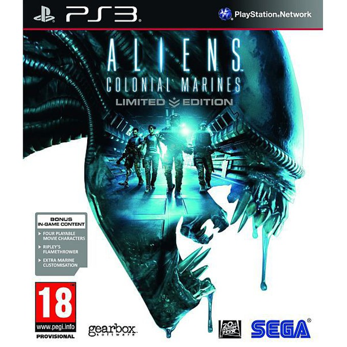 Aliens: Colonial Marines Limited Edition, за PlayStation 3 image