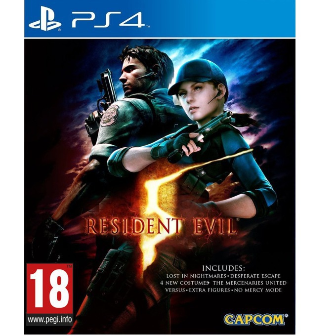 Resident Evil 5, за PS4 image