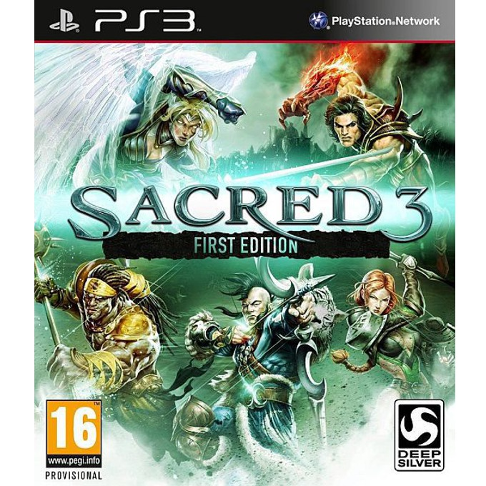 Sacred 3 First Edition, PlayStation 3 image
