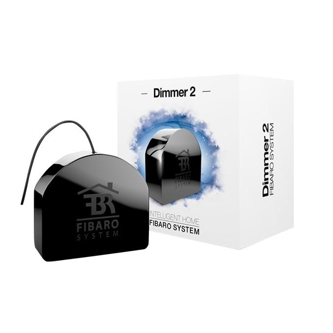 Универсален димер за осветление Fibaro Dimmer 2, LED индикатор за статус, външен/вътрешен обхват 50/30м, Z-Wave стандарт на работа image