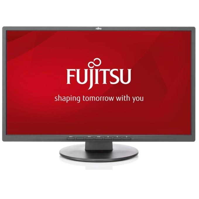 """Монитор Fujitsu E22-8 TS Pro, 21.5"""" (54.61 cm) IPS панел, Full HD, 5 ms, 20,000,000:1, 250 cd/m2, DisplayPort, DVI-D, VGA, AUX image"""