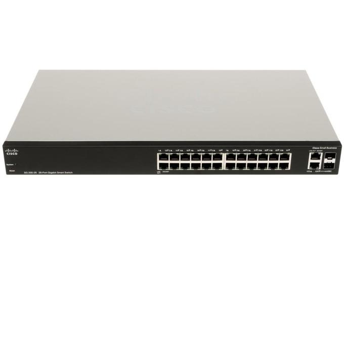 Суич Cisco SG200-26, 1000Mbps, 26-port image