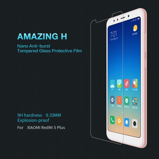 Протектор от закалено стъкло/Tempered Glass/, Nillkin 9H, за Xiaomi Redmi 5 Plus image