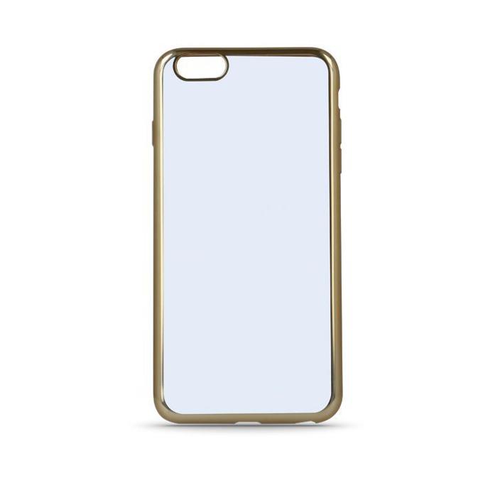 Хибриден протектор Cellular Line за Samsung Galaxy S7 Edge, прозрачен/златист image