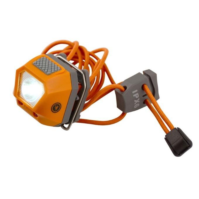 Фенер UST Brands Tight Light 1.0, 2x CR2032, 30 lumens, водоустойчив, джобен, оранжев image