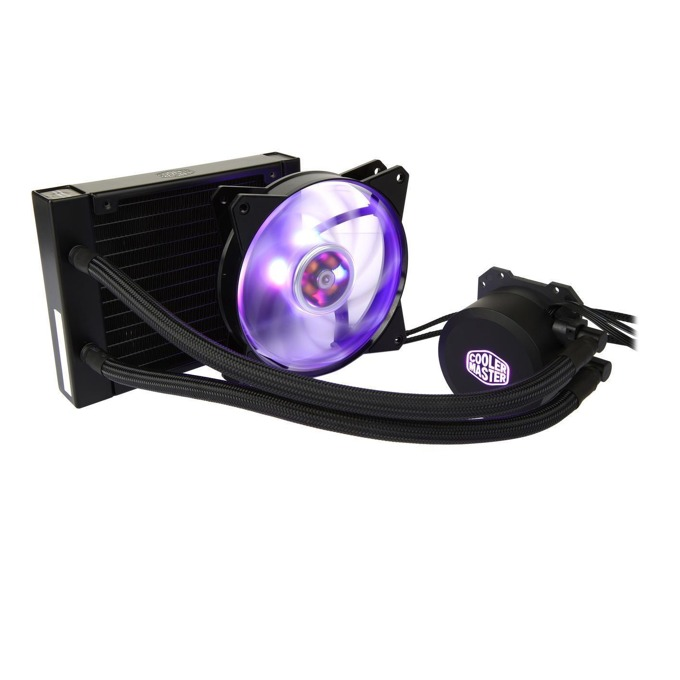 Водно охлаждане Cooler Master MasterLiquid ML120L RGB, съвместимост с Intel 2066/2011/V3/1366/1150/1151/1155/1156/775, AMD AM4/AM3+/AM3/AM2+/AM2/FM2/FM2+/FM1, RGB подсветка image