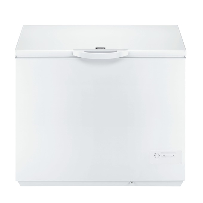 Фризер Zanussi ZFC31400WA, клас A+, 300 л. общ обем, свободностоящ, 272 kWh/годишно, бял  image
