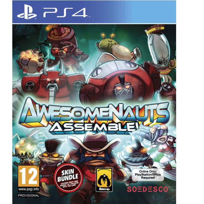 Игра за конзола Awesomenauts Assemble, за PS4 image