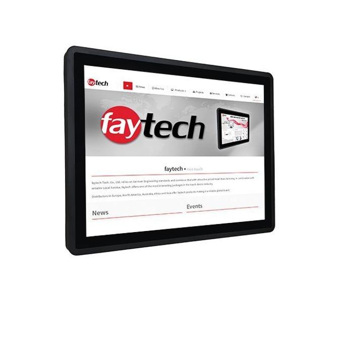 """Публичен дисплей Faytech FT15N3350W4G65GCAP, тъч дисплей, 15"""" (38.1 cm) XGA, HDMI, DisplayPort, RS232, USB image"""
