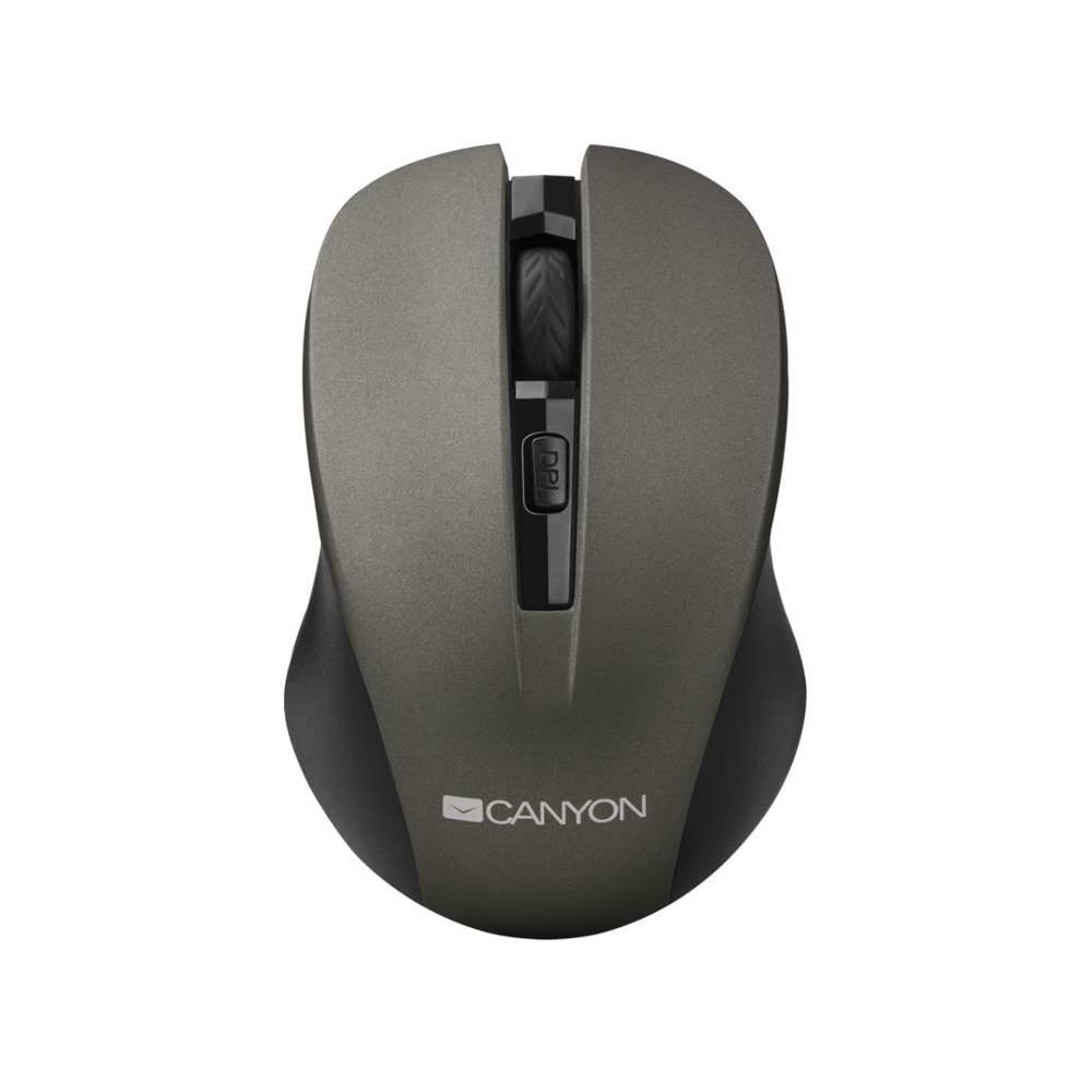 Мишка Canyon CNE-CMSW1, оптична, безжична, 1200dpi, USB, черна image