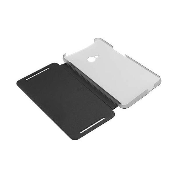 Калъф за HTC One dual, Dip Flip, отваряем, кожен, HTC, черен image