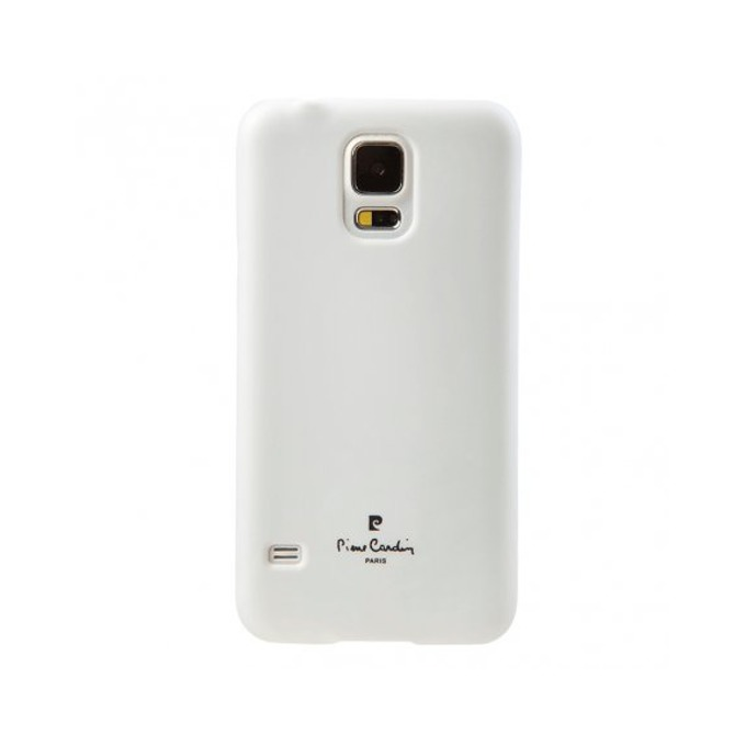 Заден капак Pierre Cardin Silk cover за Samsung Galaxy S5 SM-G900, бял image