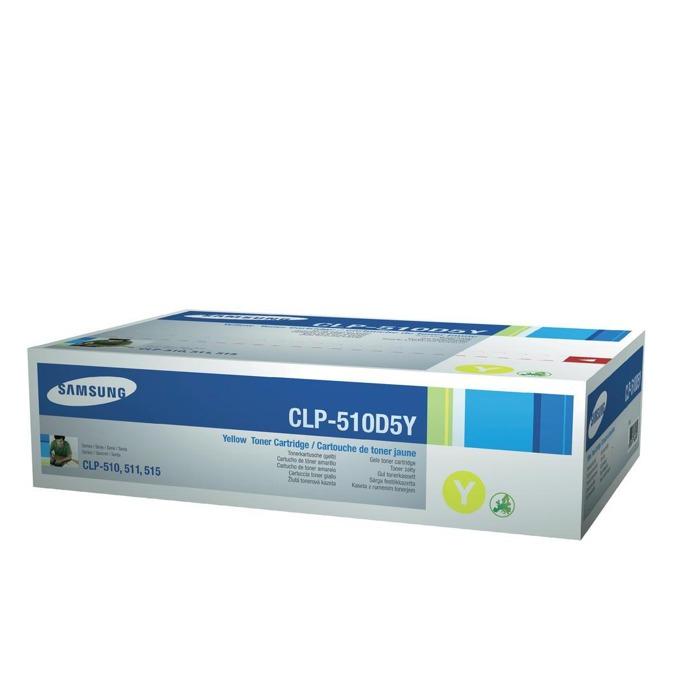 КАСЕТА ЗА SAMSUNG CLP510 - Yellow - P№ CLP-510D5Y - заб.: 5000k image