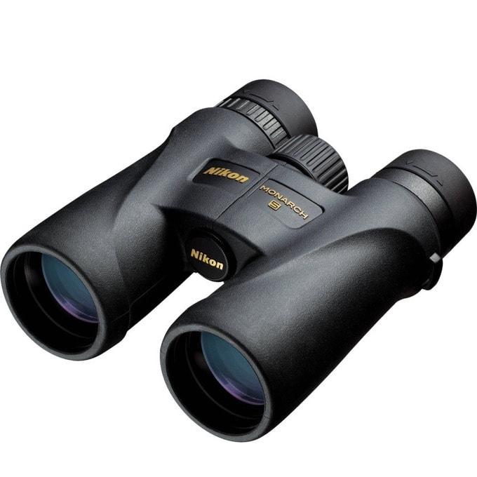 Бинокъл Nikon Monarch 5, 12x42 оптично увеличение, черен image