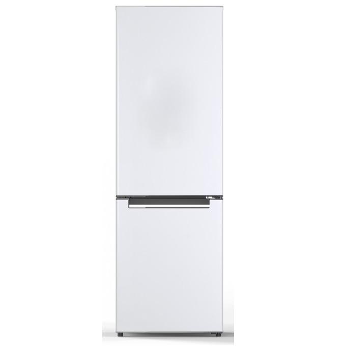 Хладилник с фризер Crown CBR-310, клас А+, 312 л. общ обем, свободностоящ, 273 kWh/годишно, LED осветление, бял  image