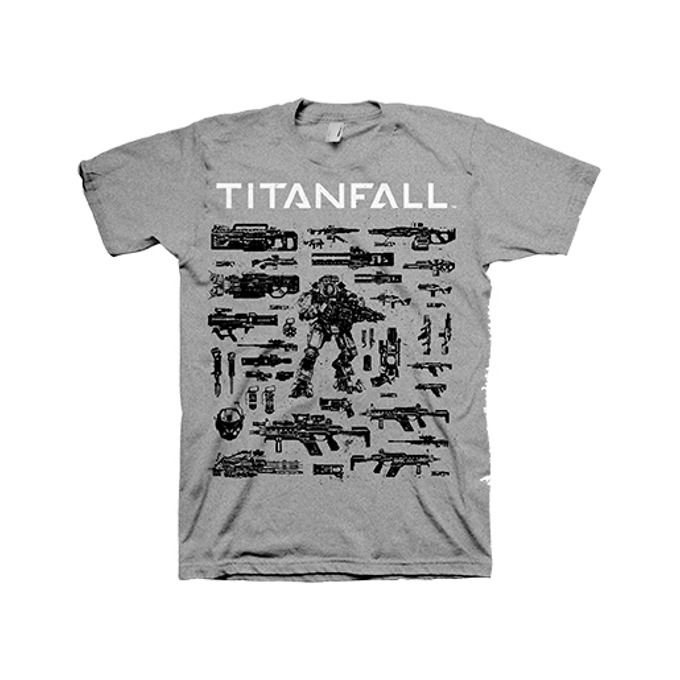 Titanfall Choose your Weapon, Size L