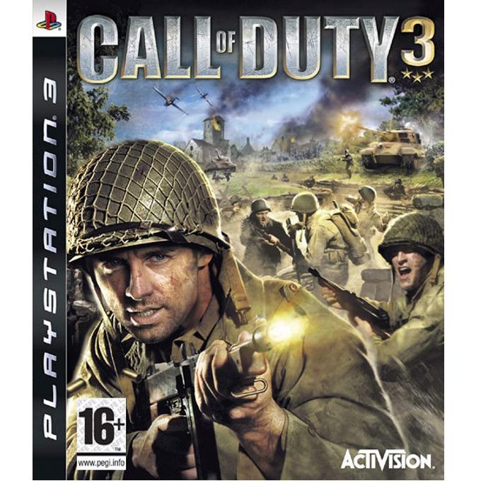 Игра за конзола Call of Duty 3, за PlayStation 3 image