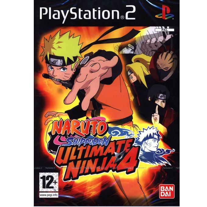 Игра за конзола Naruto Shippuden Ultimate Ninja 4, за PS2 image