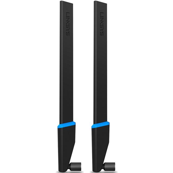 Антени LINKSYS WRT002ANT за безжичен рутер, 2.4 и 5 Ghz (4dBi, 7dBi), 2бр  image