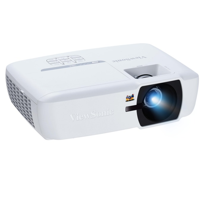 Проектор VIEWSONIC PA505W, DLP, WXGA(1280x800), 22000:1, 3500 lm, VGA, HDMI, RS232, бял image